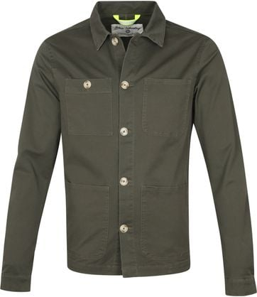 Blue Industry Overshirt Groen