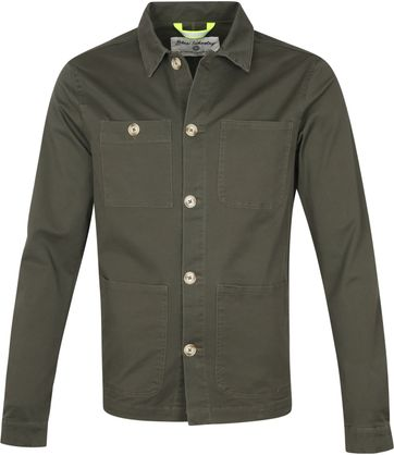 Blue Industry Overshirt Grün