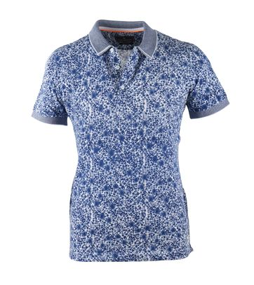Blue Industry Polo Blue Splash