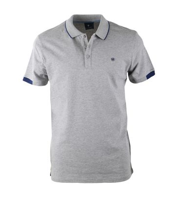 Blue Industry Polo Grijs + Navy
