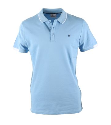 Blue Industry Polo Light Blue