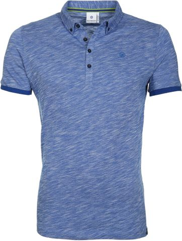 Blue Industry Polo M81 Blau