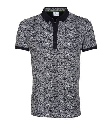 Blue Industry Polo M83 Print