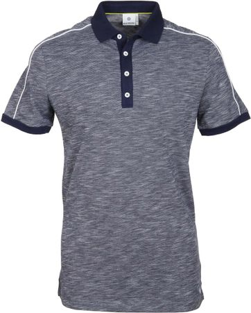 Blue Industry Polo Navy