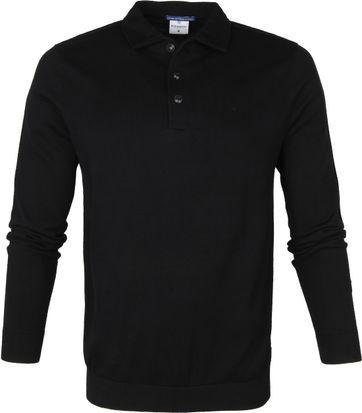 Blue Industry Polo Shirt Black