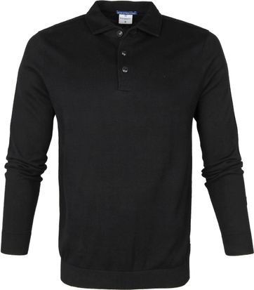 Blue Industry Polo Shirt Black