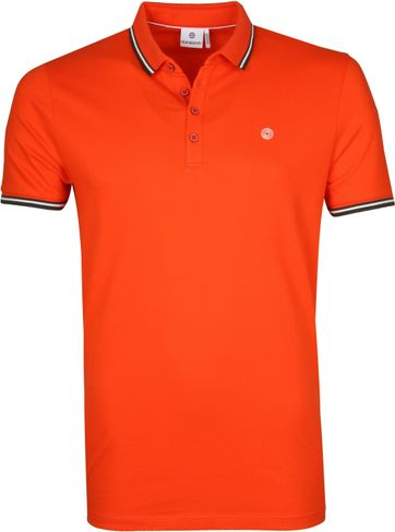 Blue Industry Polo Shirt M24 Orange