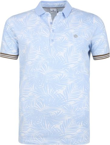 Blue Industry Polo Shirt Sky Light Blue