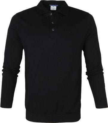 Blue Industry Polo Shirt Zwart