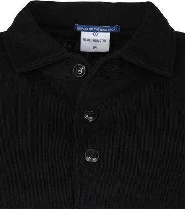 Blue Industry Polo Shirt Zwart