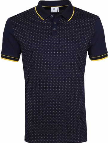 Blue Industry Polo Star Navy