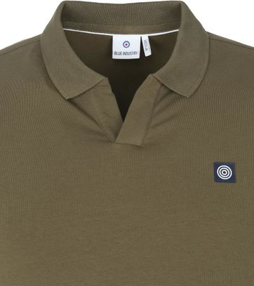 Blue Industry Polo Stretch Groen