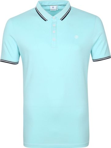 Blue Industry Polo Stretch M24 Aqua Blau