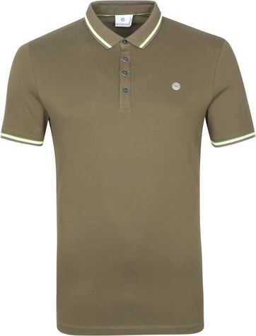 Blue Industry Polo Stretch M24 Dark Green
