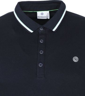 Blue Industry Polo Stretch M24 Donkerblauw