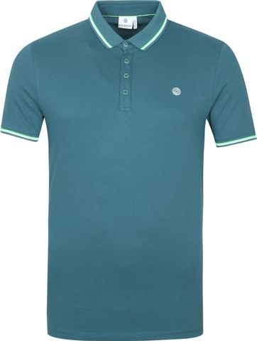 Blue Industry Polo Stretch M24 Ocean Blauw