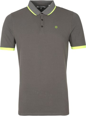 Blue Industry Polo Stretch M47 Dunkelgrun