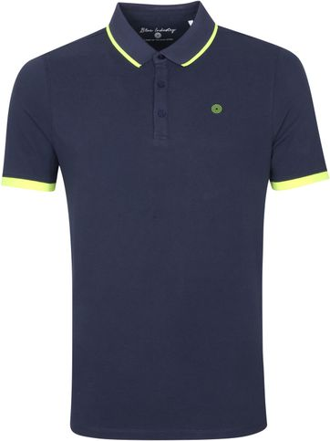 Blue Industry Polo Stretch M47 Navy