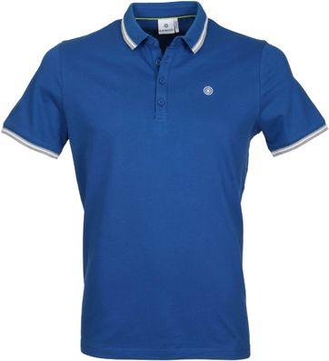 Blue Industry Polo uni Blau