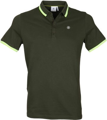 Blue Industry Polo uni Groen