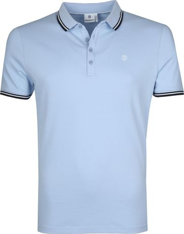 Blue Industry Poloshirt M24 Hellblau