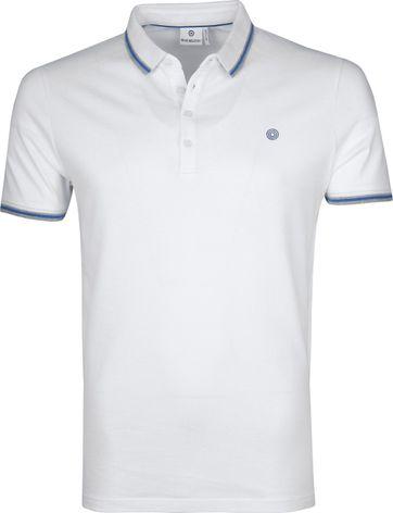 Blue Industry Poloshirt M24 Weiß