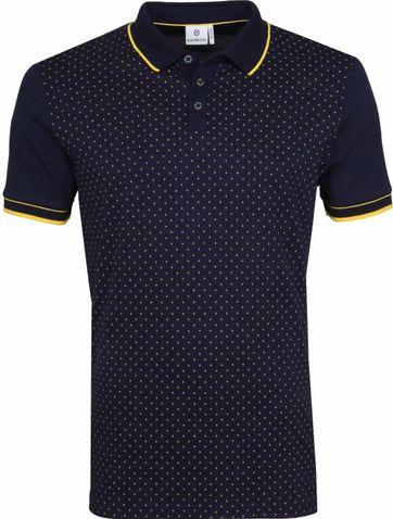 Blue Industry Poloshirt Star Navy
