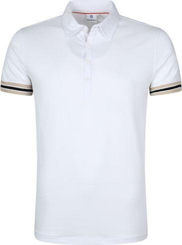 Blue Industry Poloshirt Weiß