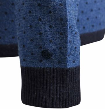 Detail Blue Industry Pullover Blauw PinPoint