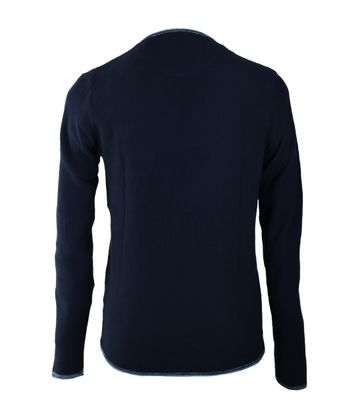 Detail Blue Industry Pullover Donkerblauw