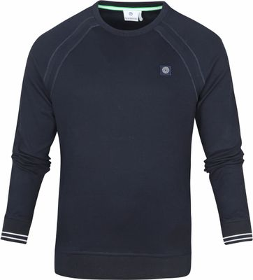 Blue Industry Pullover O-Neck Navy