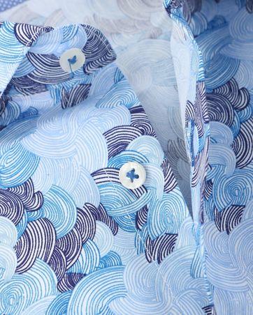 Detail Blue Industry Shirt Blue Prints