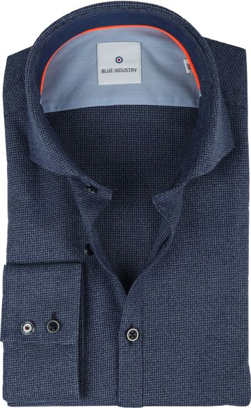 Blue Industry Shirt Dark Blue