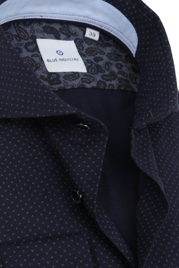 Blue Industry Shirt Design Navy