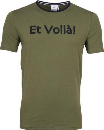 Blue Industry Shirt Logo Army