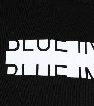 Blue Industry Shirt Logo Black
