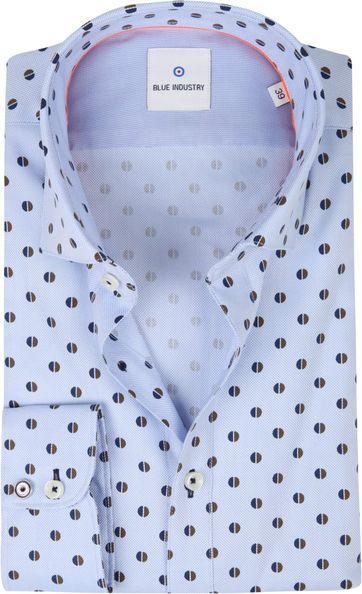 Blue Industry Shirt Mid Blue
