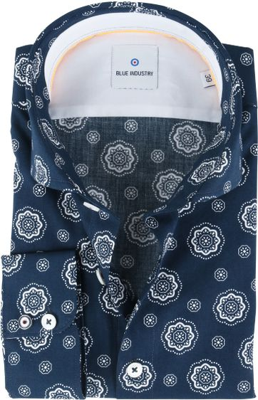 Blue Industry Shirt Navy Bloem