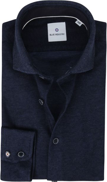 Blue Industry Shirt Pique Navy