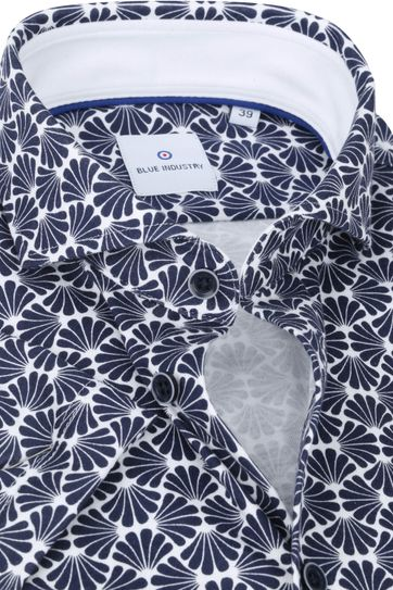 Blue Industry Shirt Short Sleeve Navy