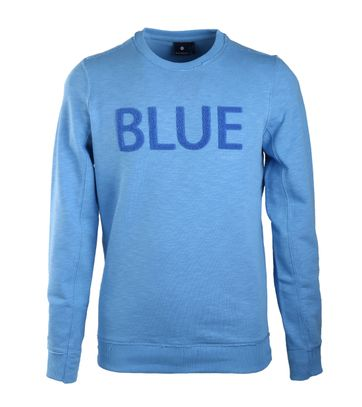 Blue Industry Sweater Blue