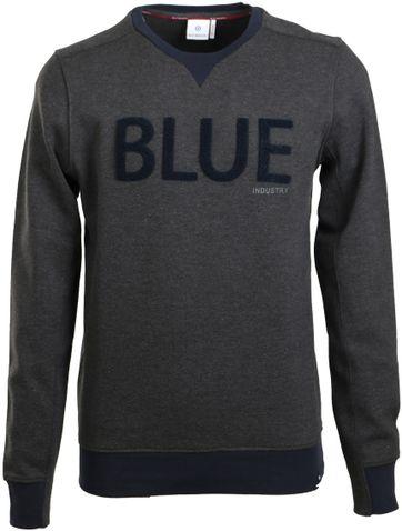 Blue Industry Sweater Dunkelgrau