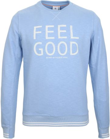 Detail Blue Industry Sweater Feel Good