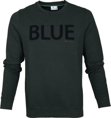 Blue Industry Sweater Knit Green