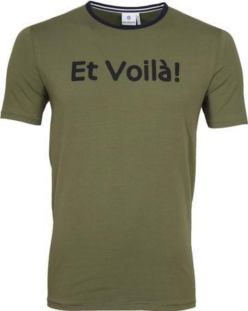 Blue Industry T-Shirt Logo Armee