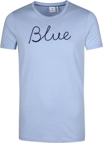Blue Industry T-Shirt Sky Blauw