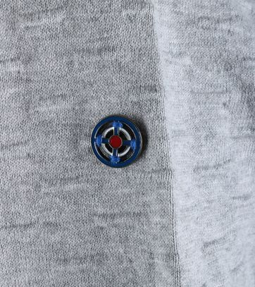 Detail Blue Industry Vest Grijs