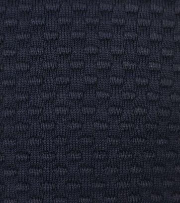 Detail Blue Industry Vest met Rits donkerblauw