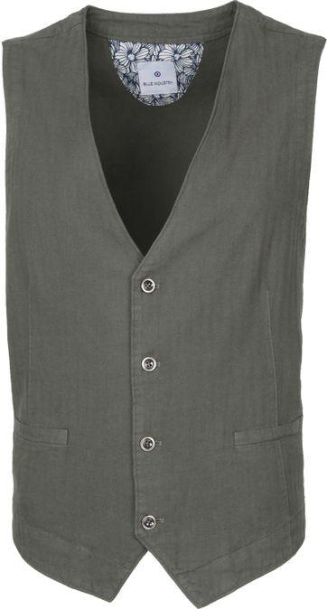 Blue Industry Waistcoat M5 Green
