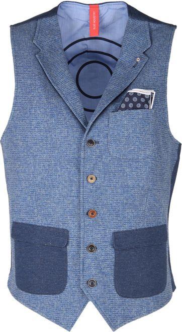 Blue Industry Waistcoat Revers Blue